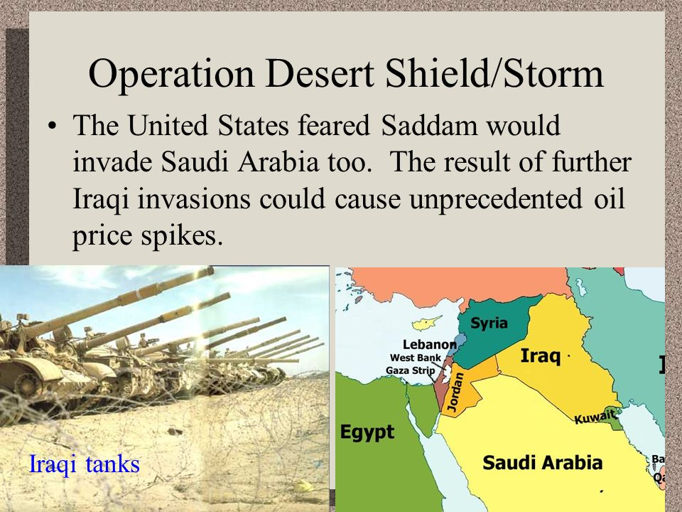 Operation Desert Shield/Storm