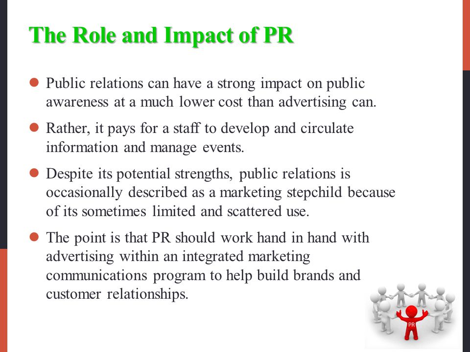 The Role and Impact of PR