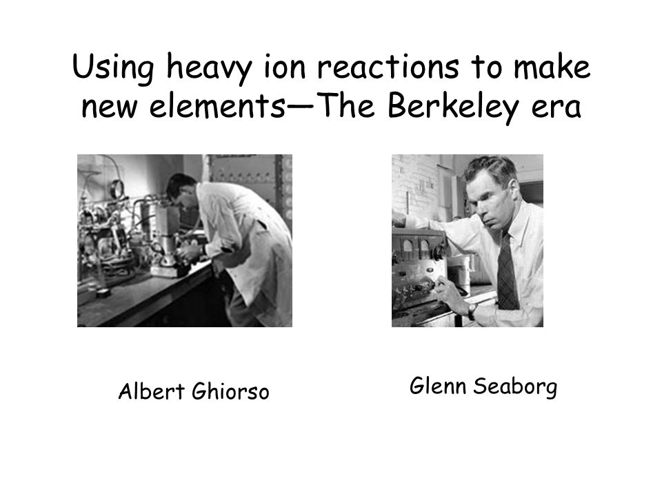 Using heavy ion reactions to make new elements—The Berkeley era