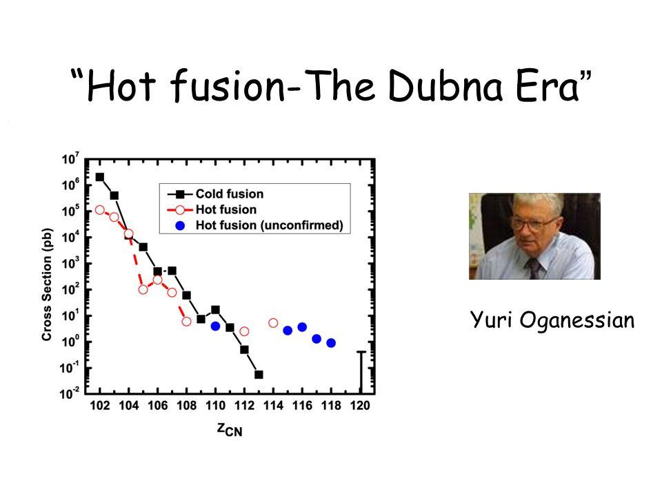 Hot fusion-The Dubna Era
