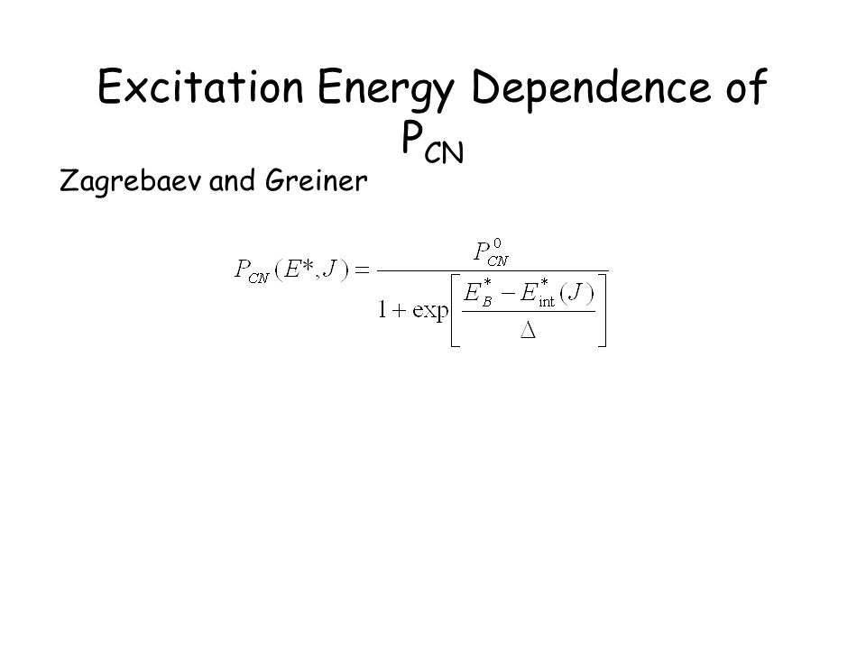 Excitation Energy Dependence of PCN