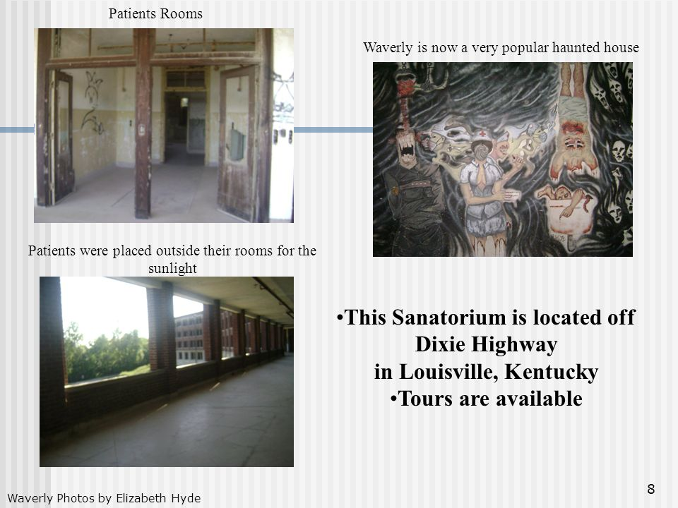This Sanatorium is located off Dixie Highway in Louisville, Kentucky