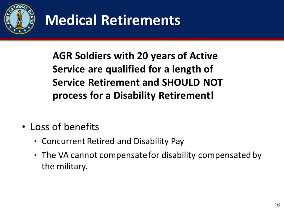Disability Separation or Retirement Process