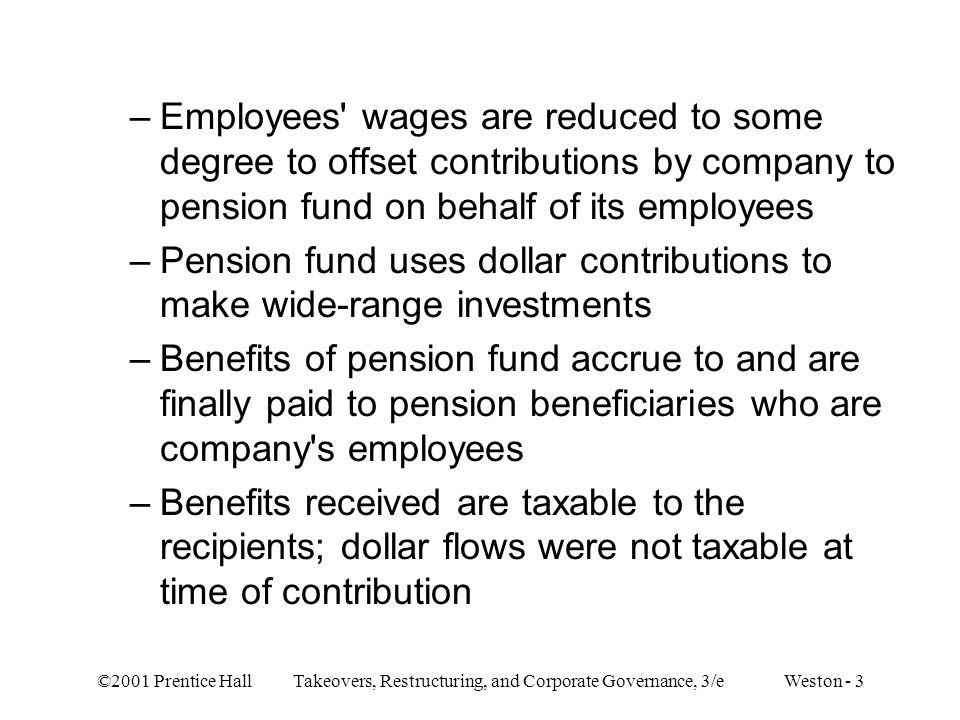Pension fund uses dollar contributions to make wide-range investments