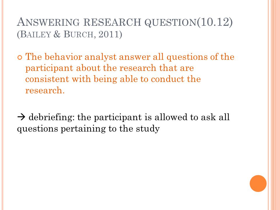 Answering research question(10.12)