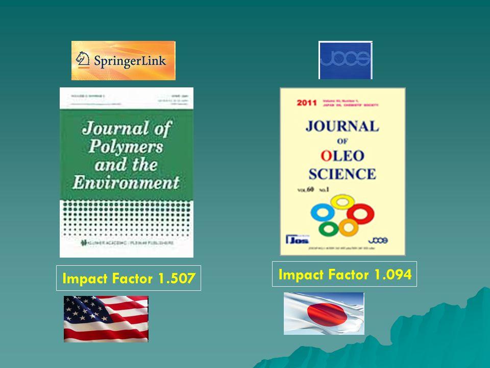 Impact Factor 1.094 Impact Factor 1.507