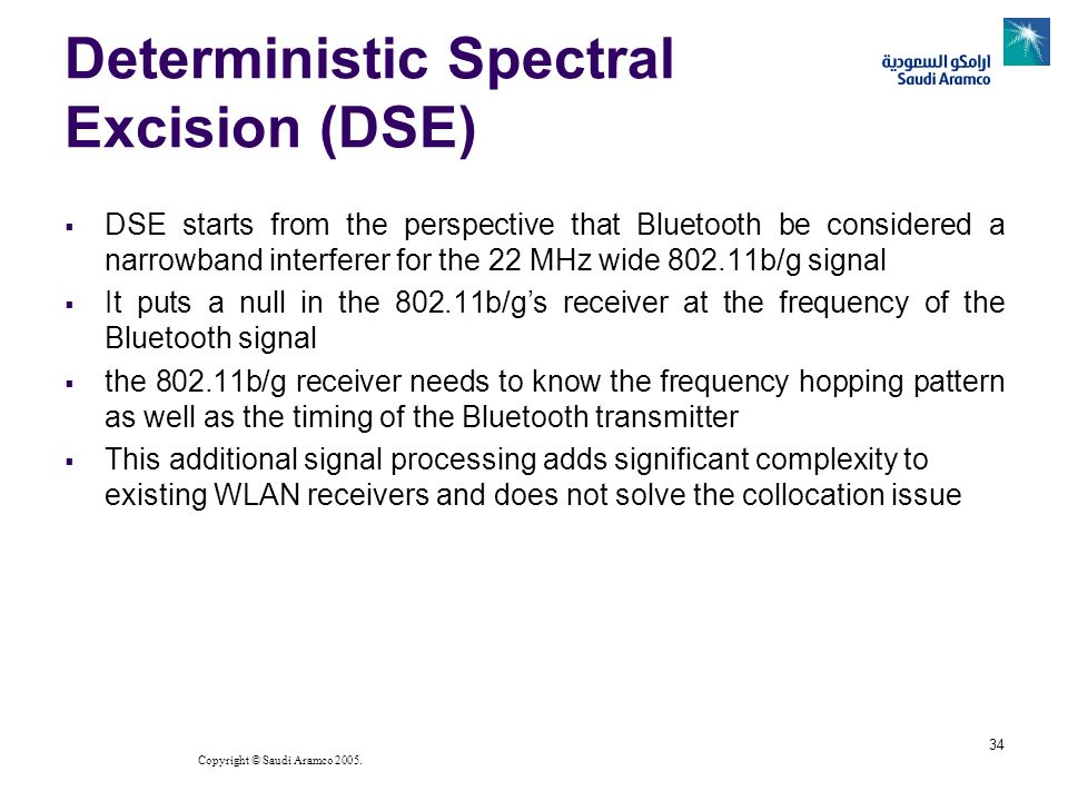 Deterministic Spectral Excision (DSE)