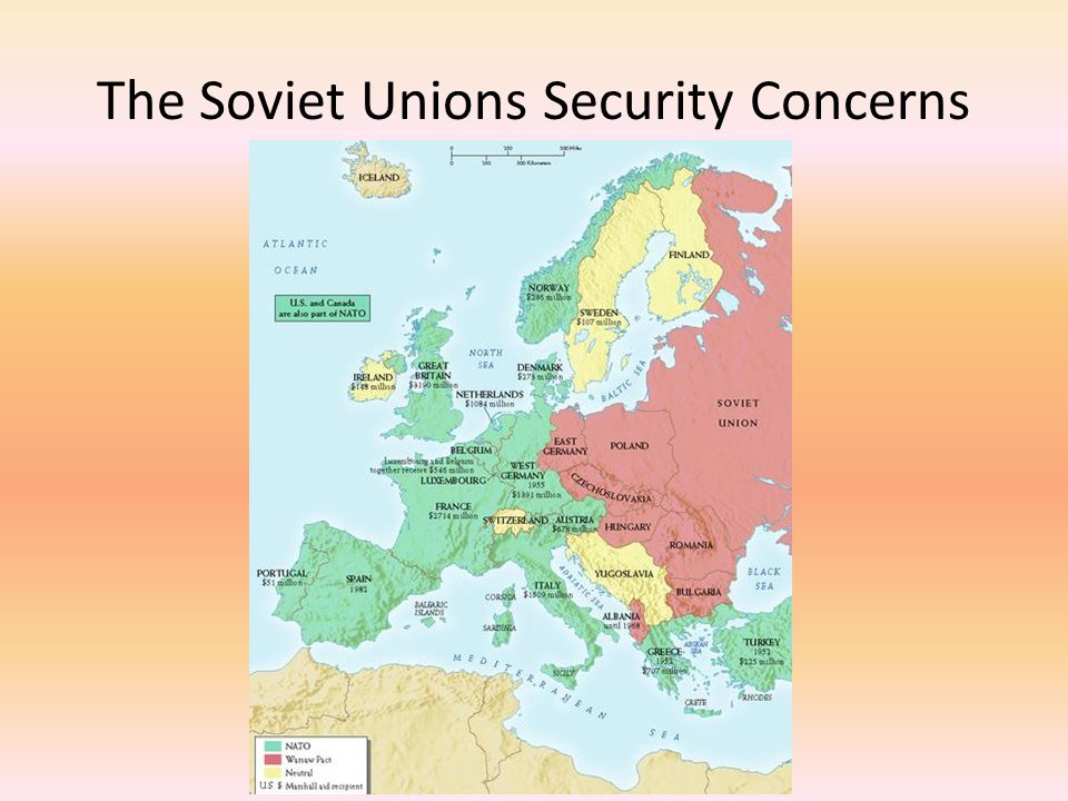 The Soviet Unions Security Concerns