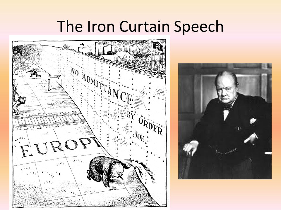 The Iron Curtain Speech