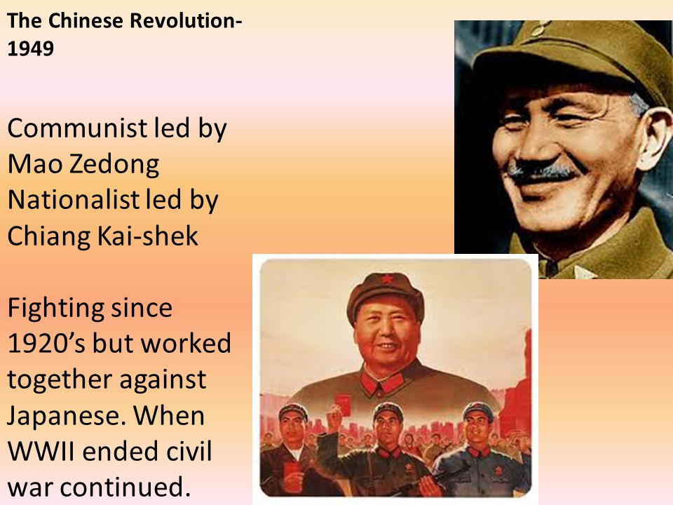 The Chinese Revolution-1949