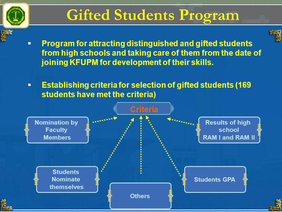 Gifted Students Program