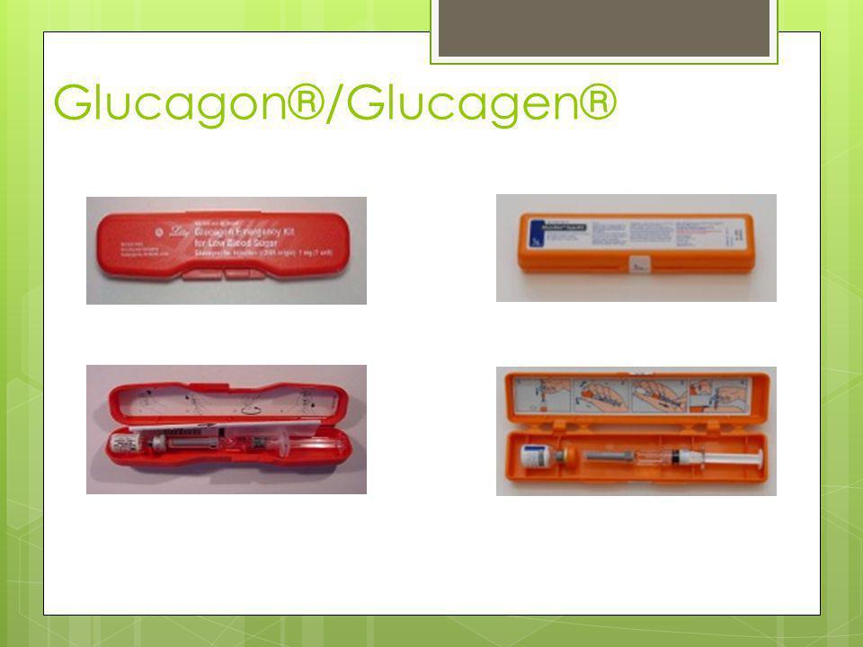 Glucagon®/Glucagen®