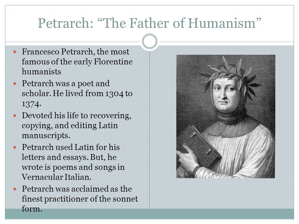 Petrarch: The Father of Humanism
