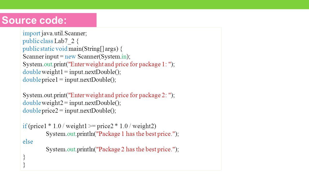 Source code: