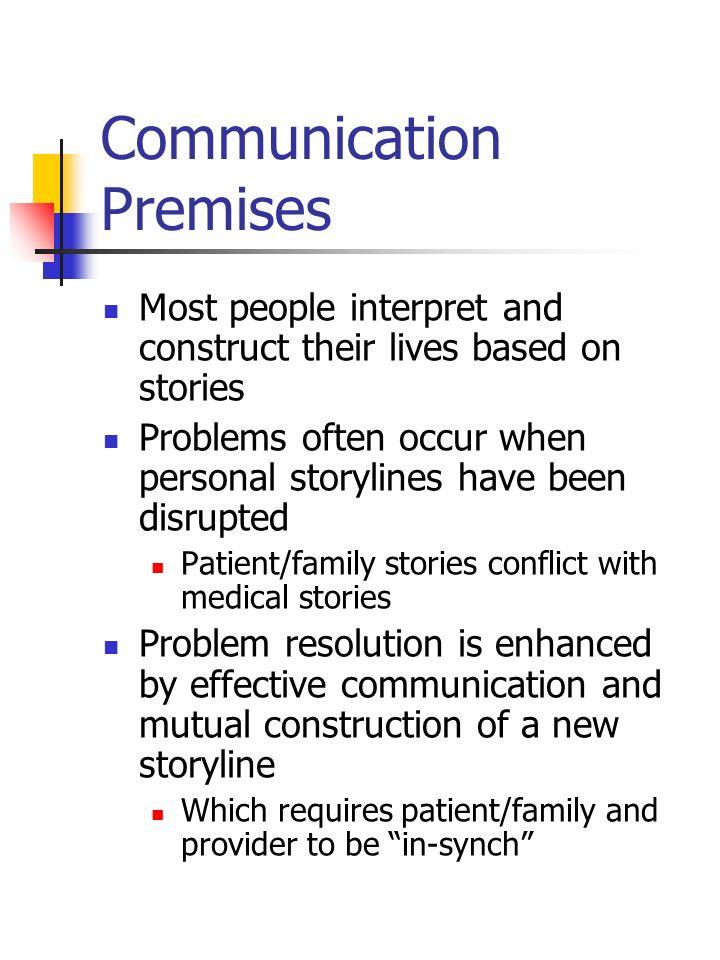 Communication Premises