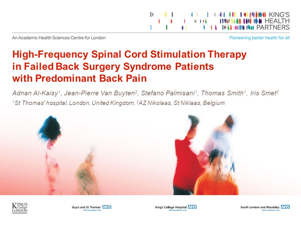 High-Frequency Spinal Cord Stimulation Therapy in Failed Back Surgery Syndrome Patients with Predominant Back Pain
