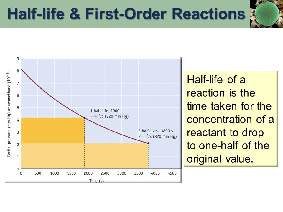 Half-life & First-Order Reactions