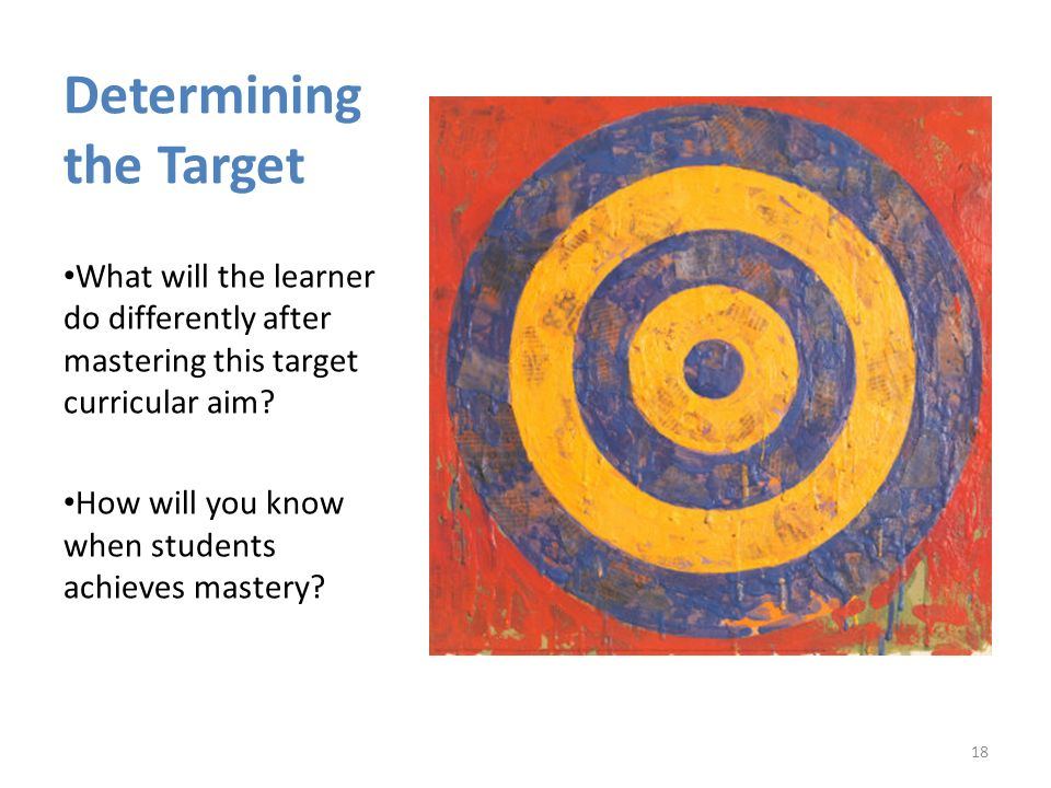 Determining the Target
