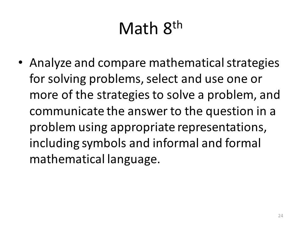 Math 8th