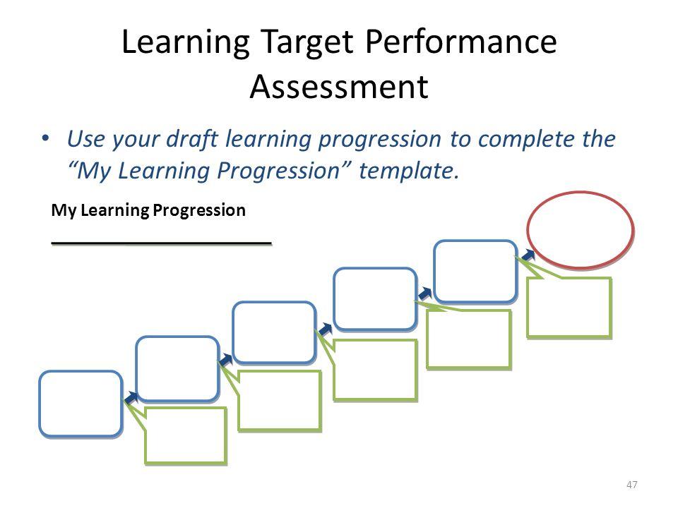 Learning Target Performance Assessment