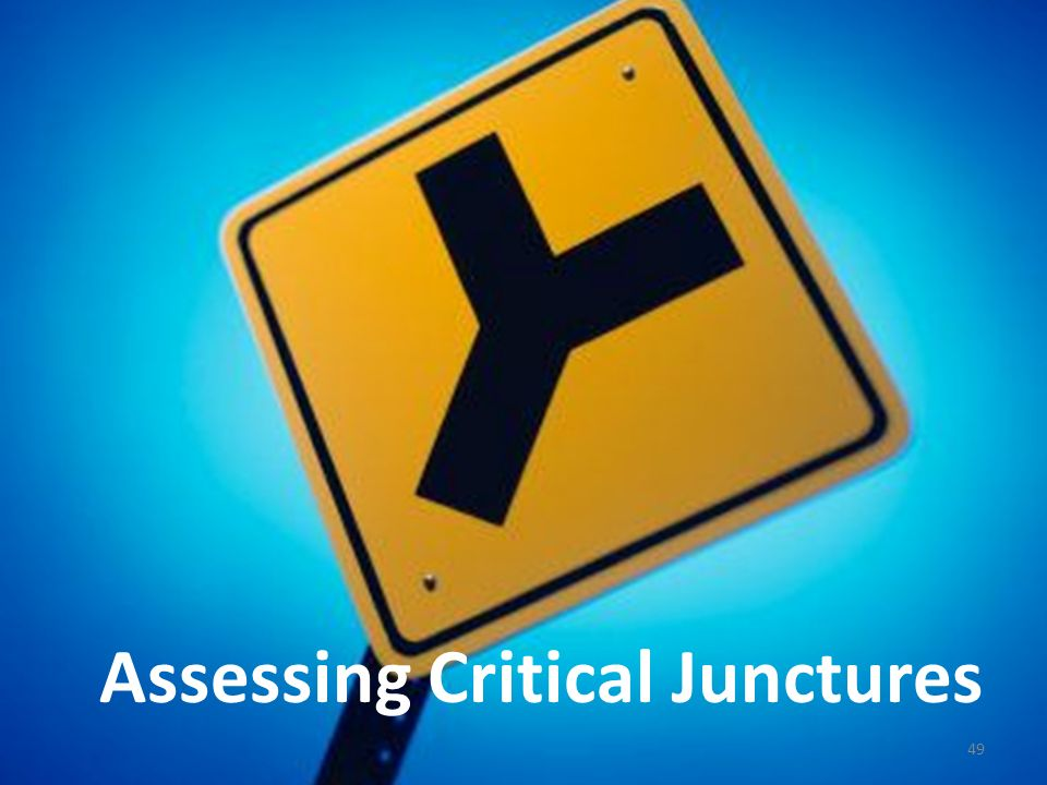 Assessing Critical Junctures