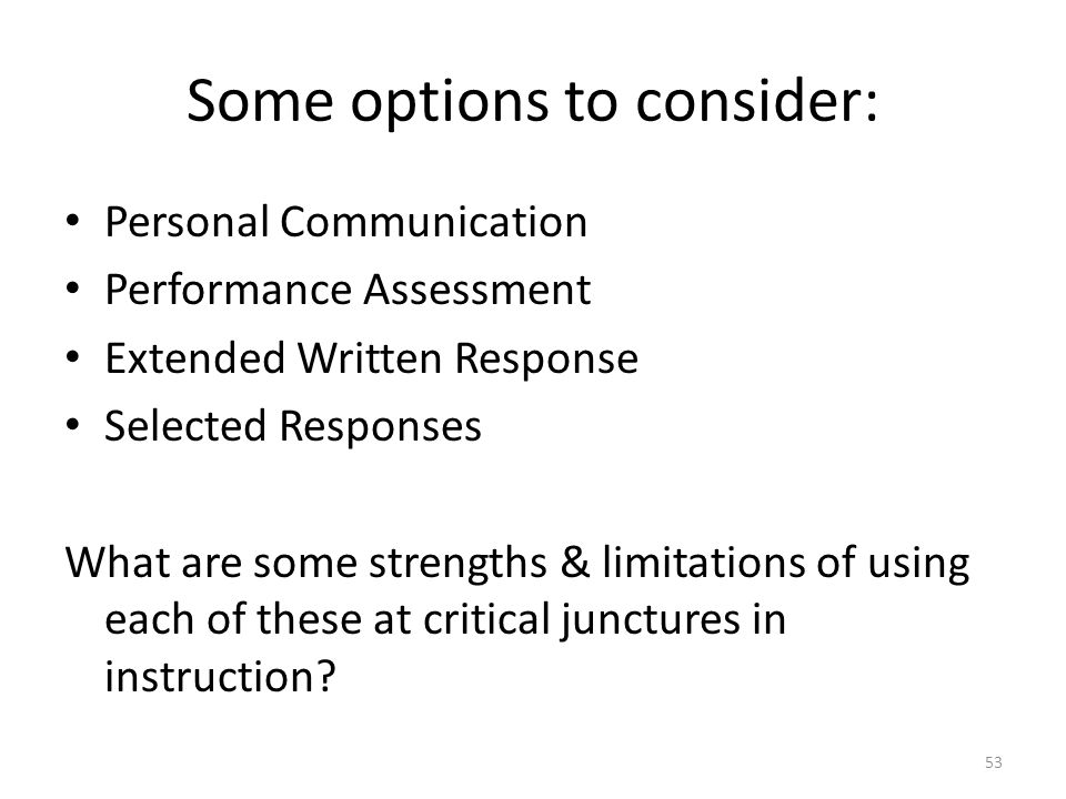 Some options to consider: