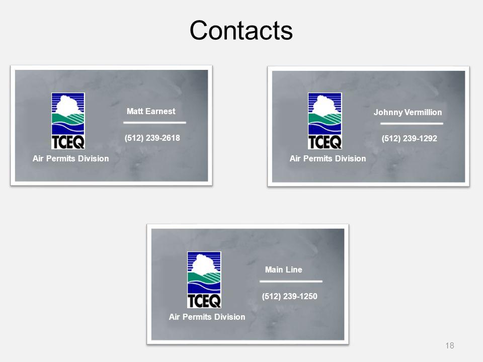 Air Permits Division (512) 239-1250