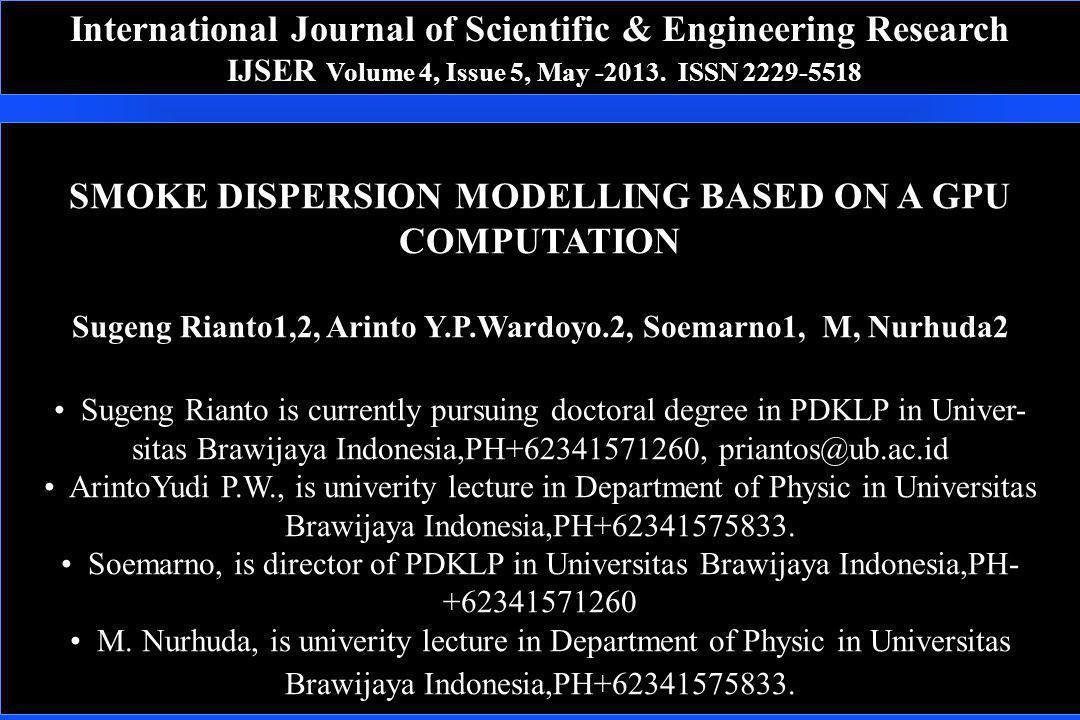International Journal of Scientific & Engineering Research