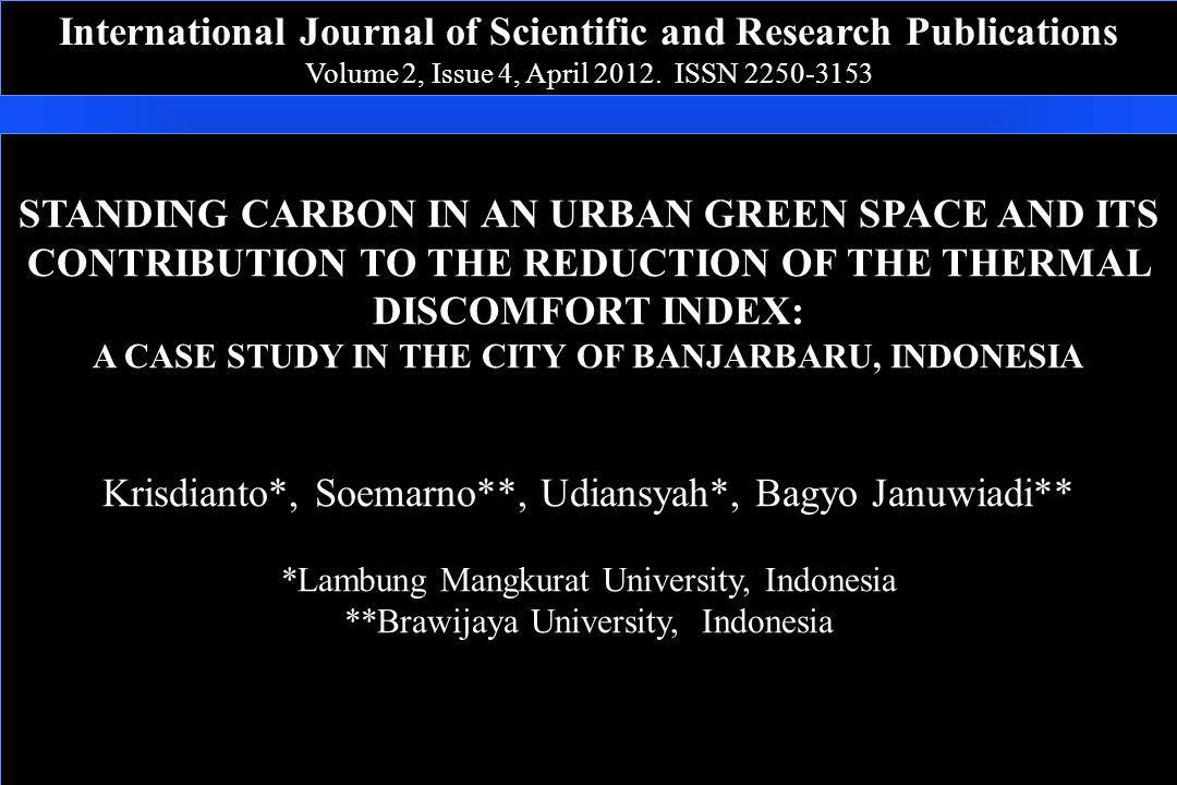 International Journal of Scientific and Research Publications