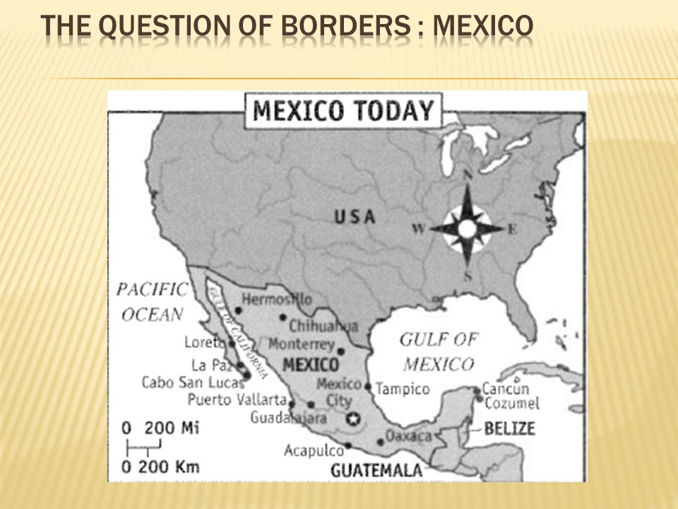 The Question of Borders : Mexico