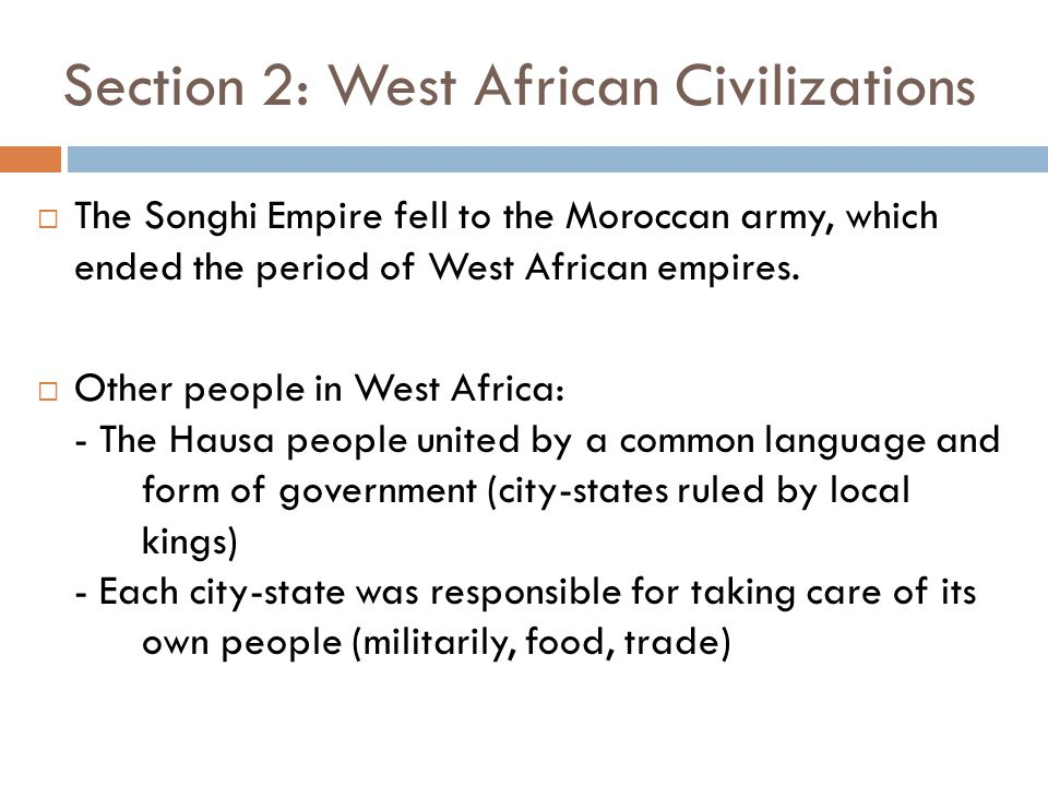 Chapter 15: Societies and Empires of East and Central Africa - ppt ...