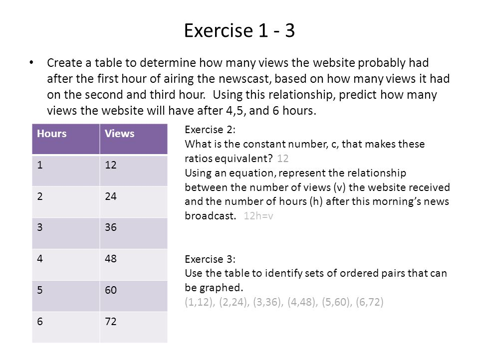 Exercise 1 - 3