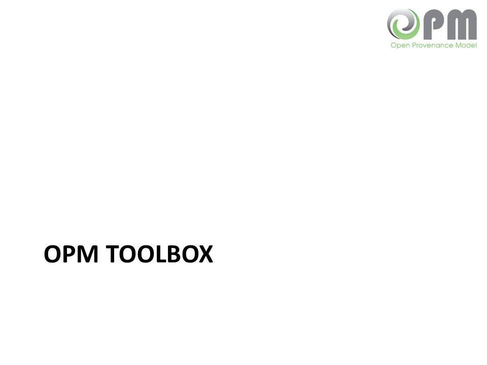 OPM Toolbox