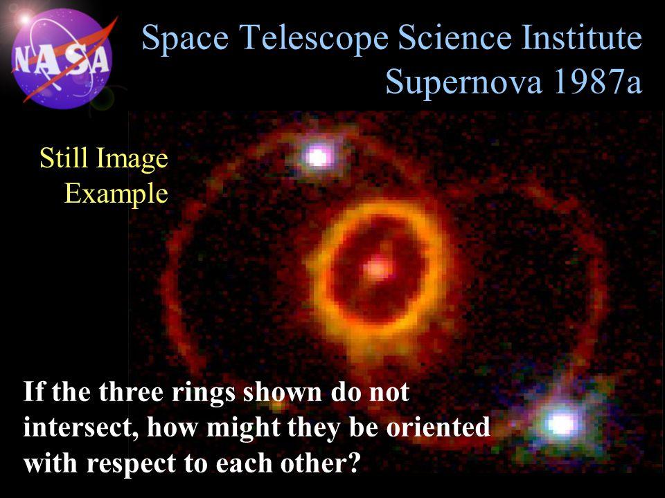 Space Telescope Science Institute Supernova 1987a