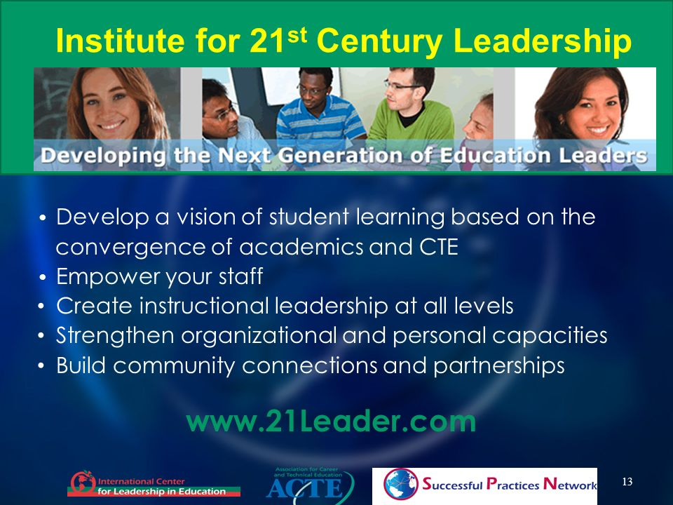 Institute for 21st Century Leadership