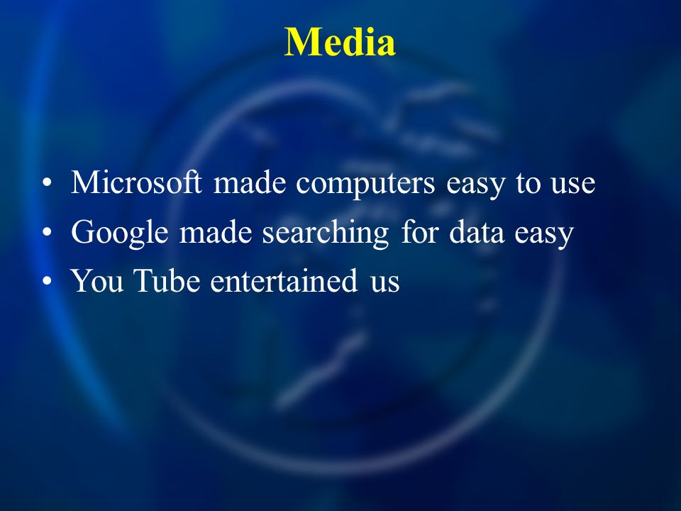 Media Microsoft made computers easy to use