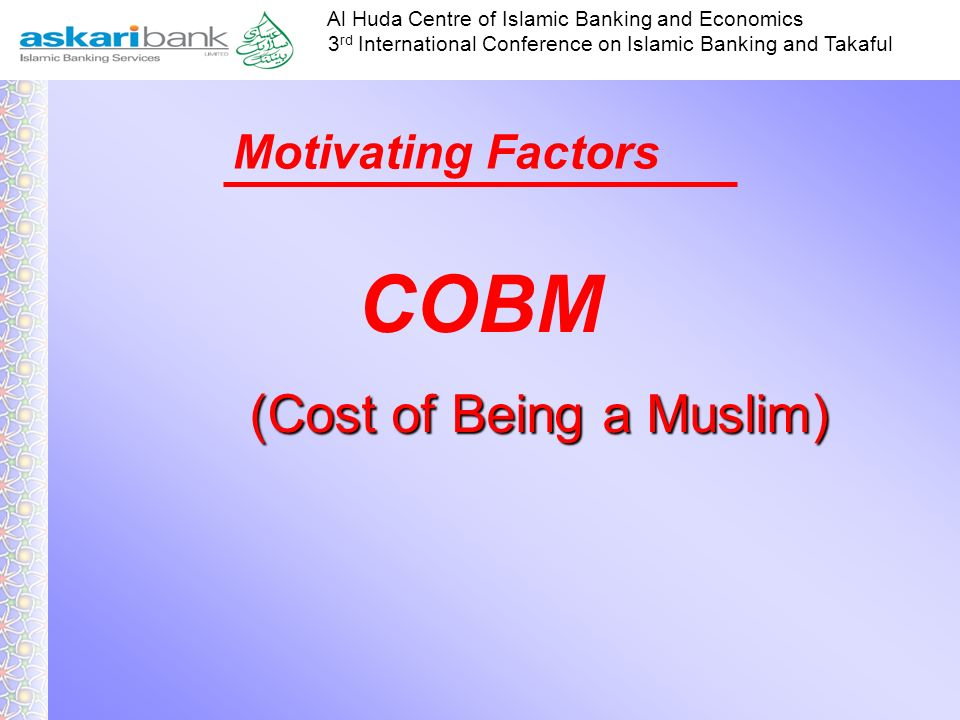 (Cost of Being a Muslim)