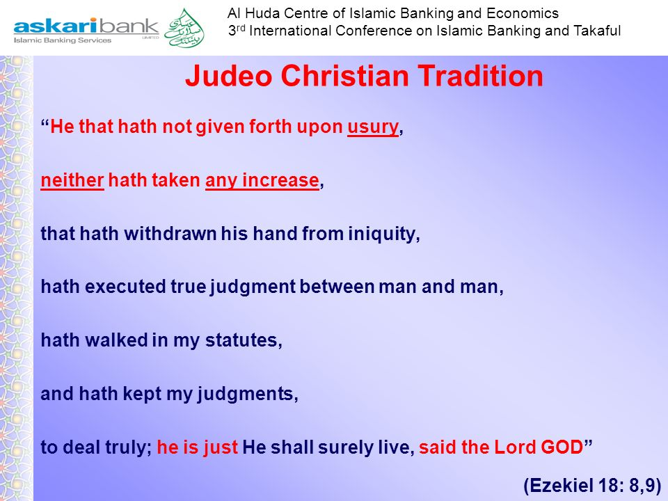 Judeo Christian Tradition
