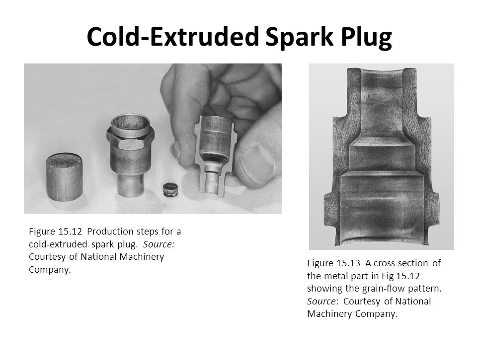 Cold-Extruded Spark Plug