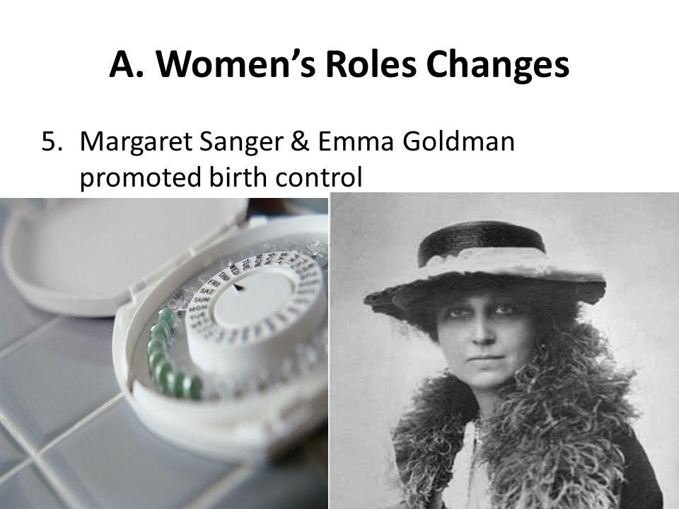 A. Women's Roles Changes