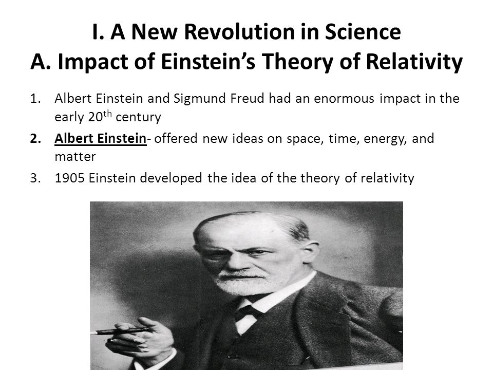 I. A New Revolution in Science A