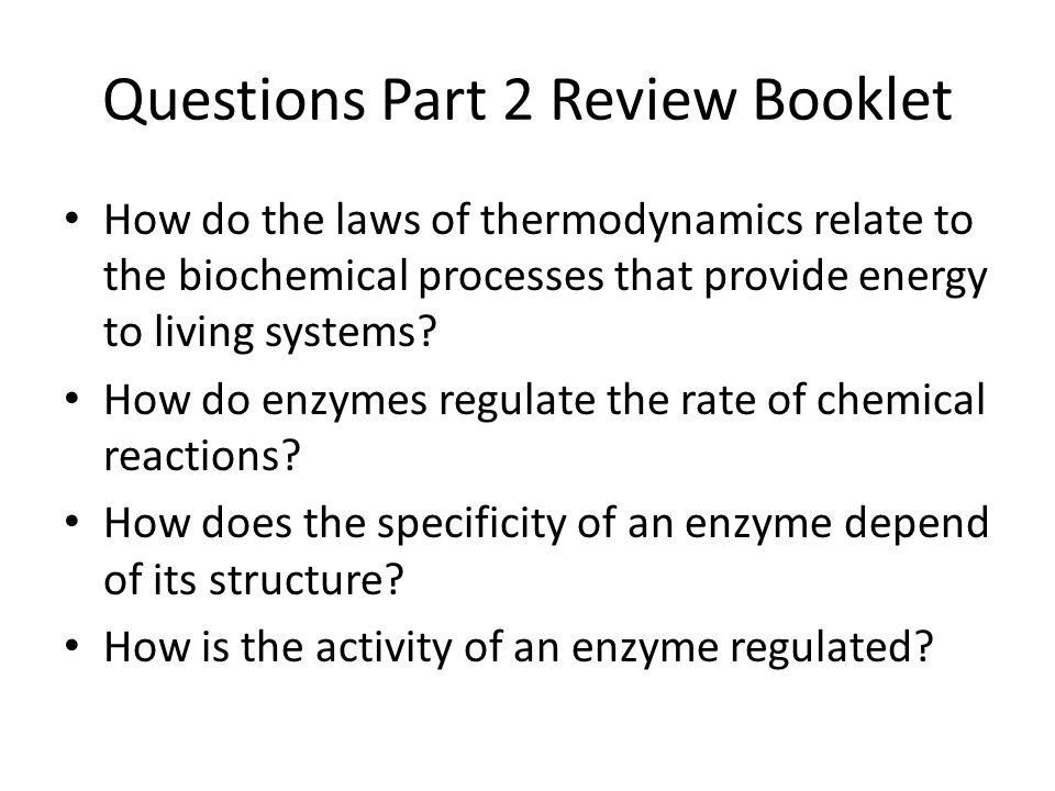 Questions Part 2 Review Booklet