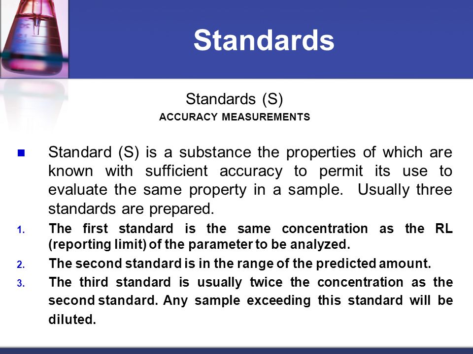 ACCURACY MEASUREMENTS