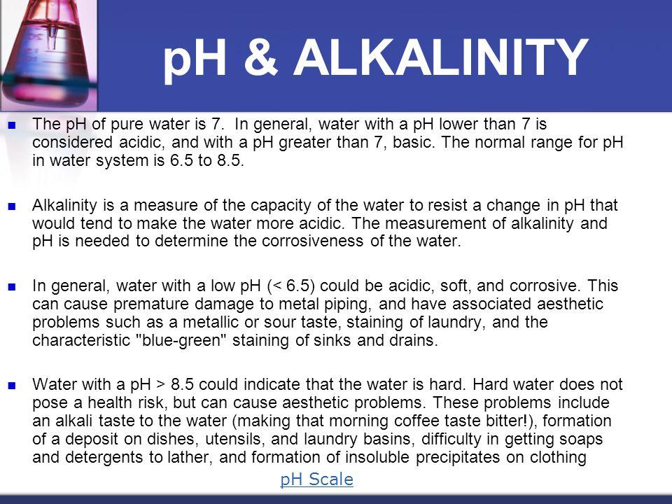 pH & ALKALINITY