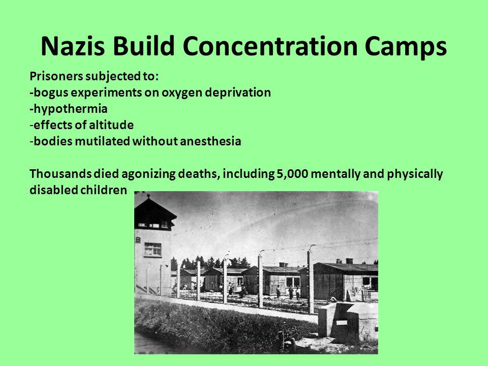Nazis Build Concentration Camps