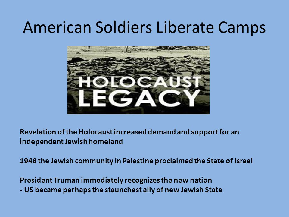 American Soldiers Liberate Camps