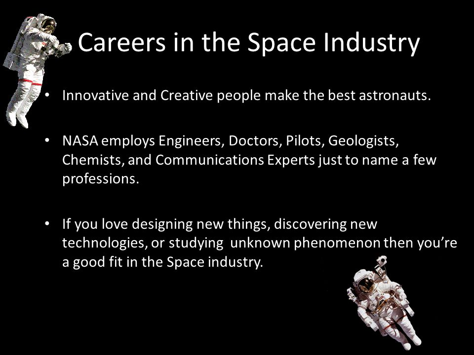 Careers in the Space Industry