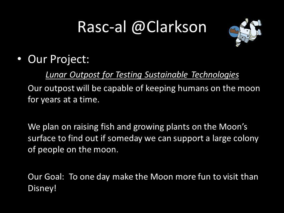 Rasc-al @Clarkson Our Project: