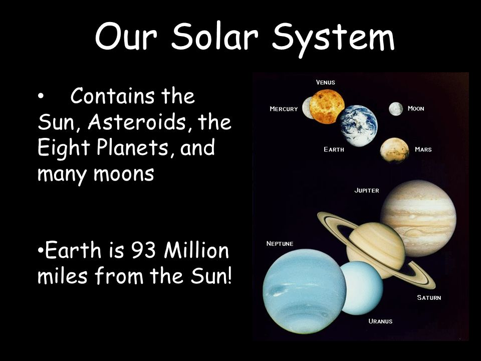 Our Solar System Solar System