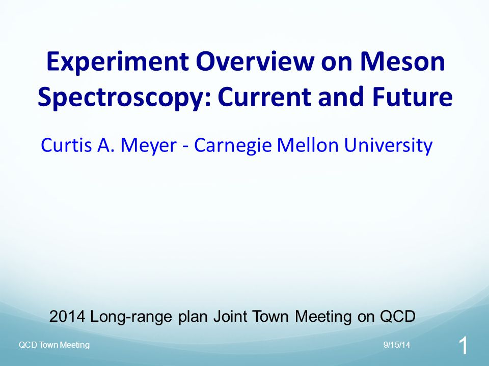 Experiment Overview on Meson Spectroscopy: Current and Future